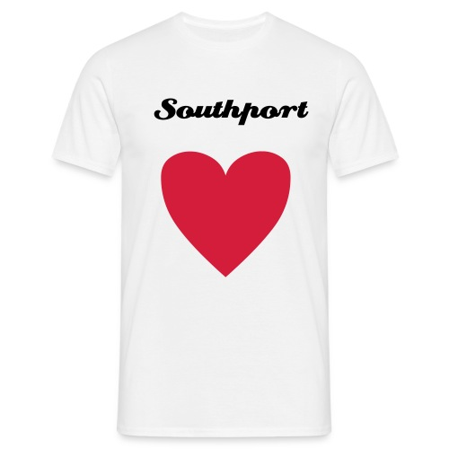 Southport Heart - Men's T-Shirt