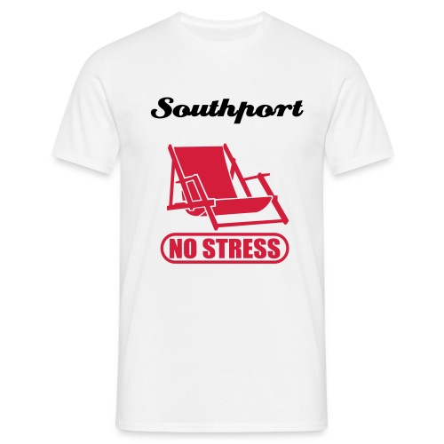 Southport No Stress - Men's T-Shirt
