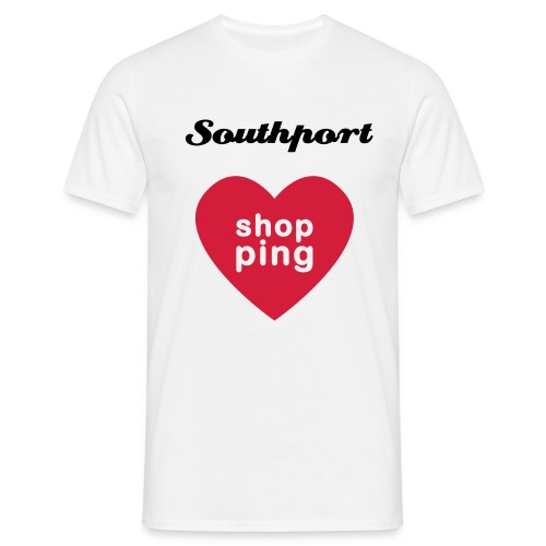 Southport Shopping - Men's T-Shirt