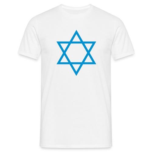 Davidstern - T-shirt herr