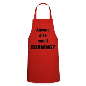 'Burning' apron - Cooking Apron
