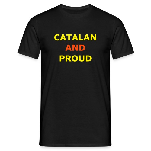 Catalan and Proud - Men's T-Shirt