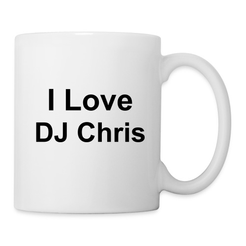 DJ Chris Kaffeebecher - Tasse