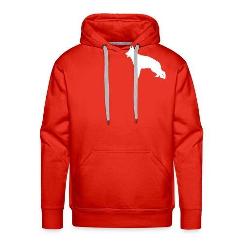 Sweet BA stylisé - Sweat-shirt à capuche Premium pour hommes