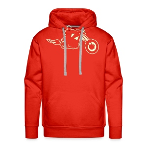 Choppergenseren/Choppersweater - Premium hettegenser for menn
