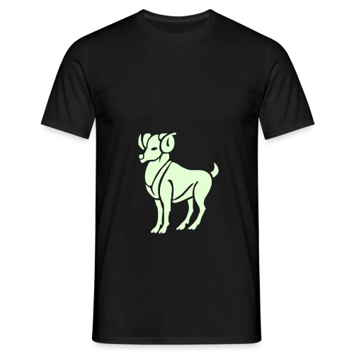 Motive-T-Shirt, Tierkreiszeichen - Männer T-Shirt