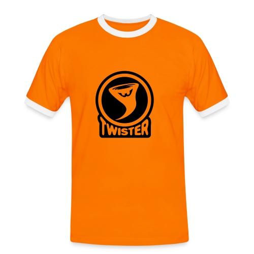 Twister - Kontrast-T-skjorte for menn