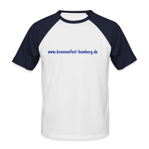 Brunnenfest Fan - Männer Baseball-T-Shirt