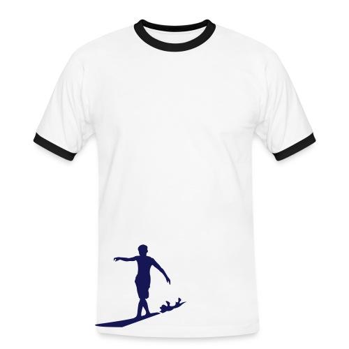 Mens Slim Contrast Tee - Männer Kontrast-T-Shirt