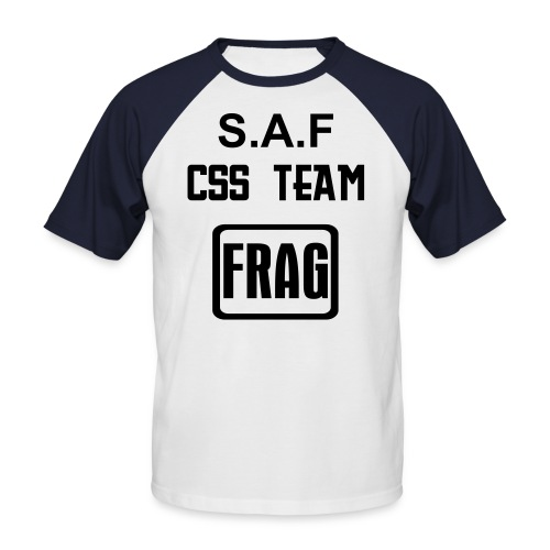 T-Shirt Frag/Gamers S.A.F TEAM - T-shirt baseball manches courtes Homme