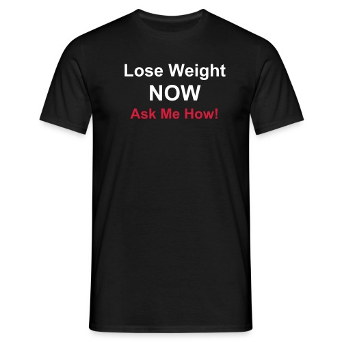 Lose Weight Easy Fit Tee-shirt - Men's T-Shirt