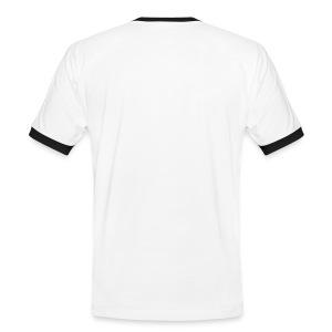 I fuck a lot better than I talk t-shirt - Kontrast-T-skjorte for menn