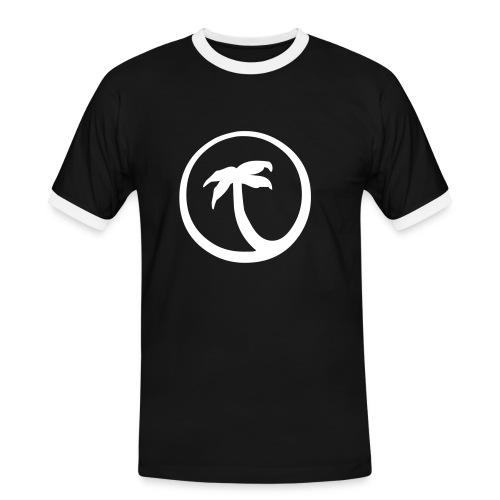 Black Island - T-shirt contrasté Homme
