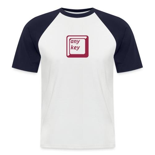any key - Männer Baseball-T-Shirt
