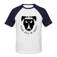 T-Shirts ~ Men's Baseball T-Shirt ~ Black Belt In Agility - Retro Tee