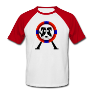 T-Shirts ~ Men's Baseball T-Shirt ~ Tyre - Retro Tee