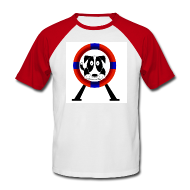 T-Shirts ~ Men's Baseball T-Shirt ~ Tyre - Retro Tee