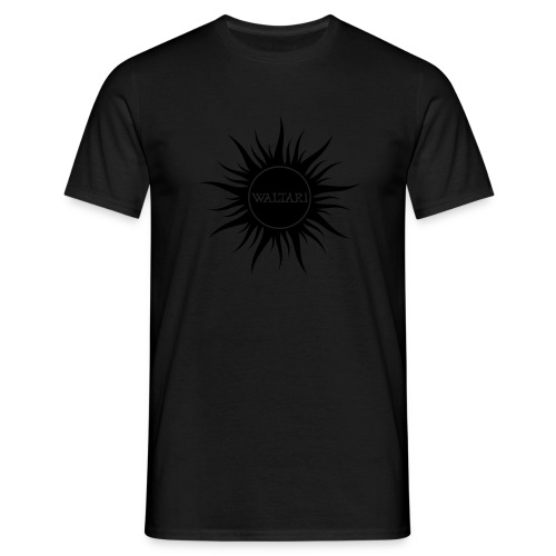 Waltari SUN 2007 black-on-black - Men's T-Shirt