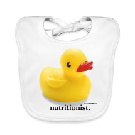 Baby Bibs ~ Baby Organic Bib ~ Childish Visual Gag.