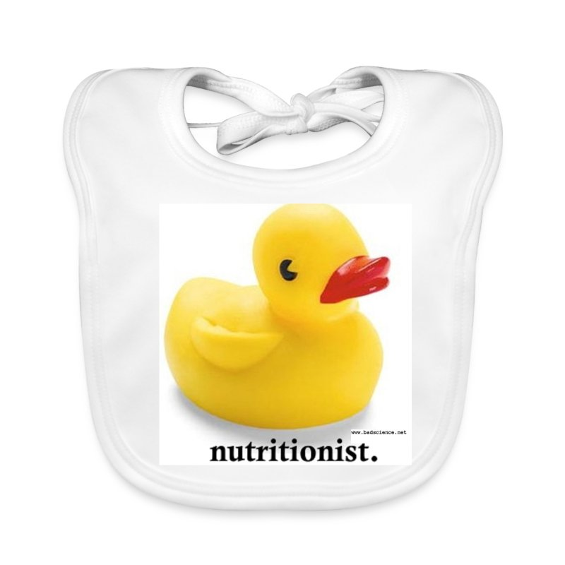 Childish Visual Gag. - Baby Organic Bib