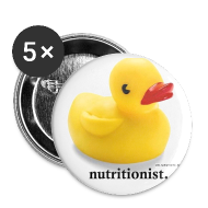 Buttons ~ Buttons medium 32 mm ~ Lovely Duck Badge
