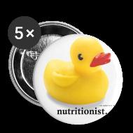 Buttons ~ Buttons medium 32 mm ~ Lovely Duck Badge