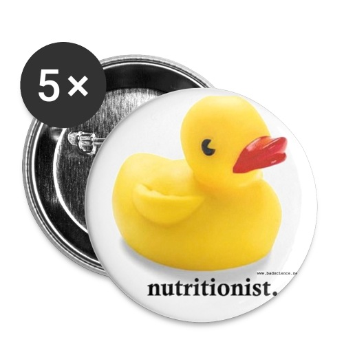 Lovely Duck Badge - Buttons medium 1.26/32 mm (5-pack)