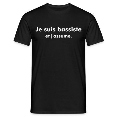 J'assume ou pas, URL - T-shirt Homme