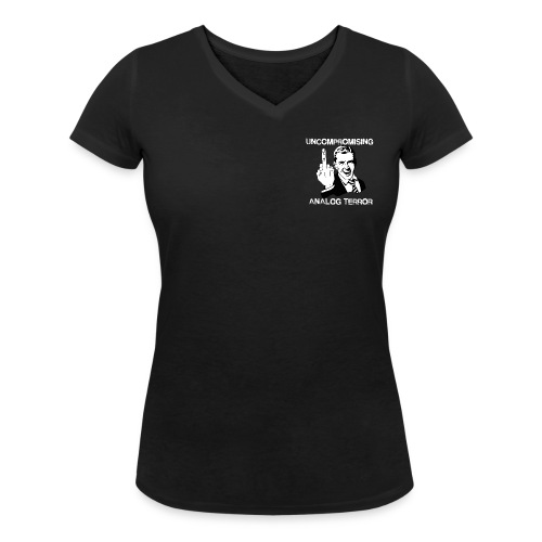 Woman V-Neck Tshirt - Vrouwen bio T-shirt met V-hals van Stanley & Stella