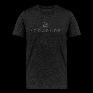 YOGADUDE Logo Shirt – Dudes - Männer Premium T-Shirt