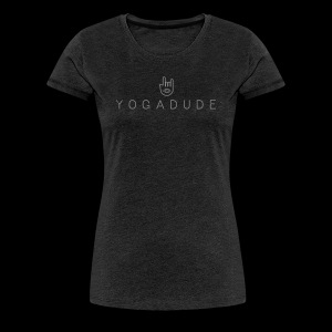 YOGADUDE Logo Shirt – Girls - Frauen Premium T-Shirt