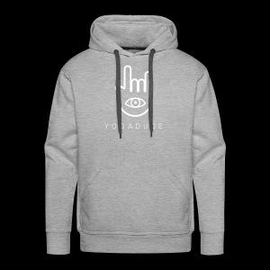 YOGADUDE Logo Hoodie - Dudes - Männer Premium Hoodie