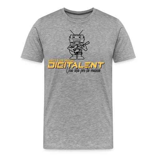 digitale 001 - Maglietta Premium da uomo