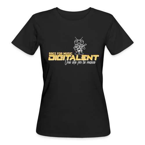 digitale  - T-shirt ecologica da donna