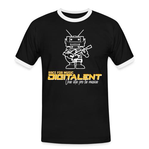 digitale  - Maglietta Contrast da uomo