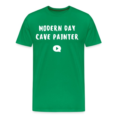modern day cave painter - Männer Premium T-Shirt