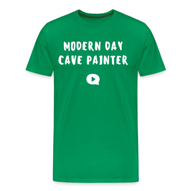 modern day cave painter