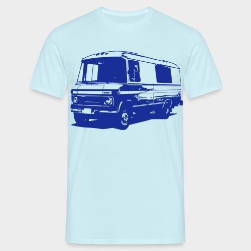 DüDo Shirt - Männer T-Shirt - blau - Männer T-Shirt