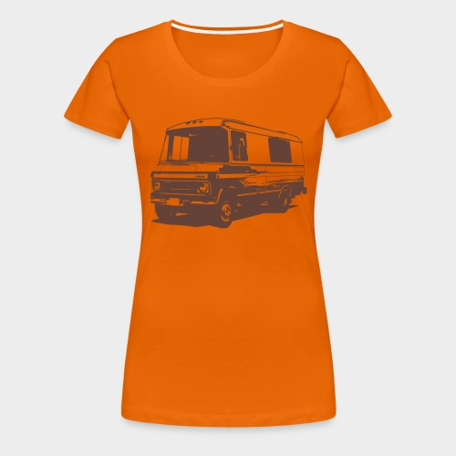 DüDo Shirt - Männer T-Shirt - orange - Frauen Premium T-Shirt