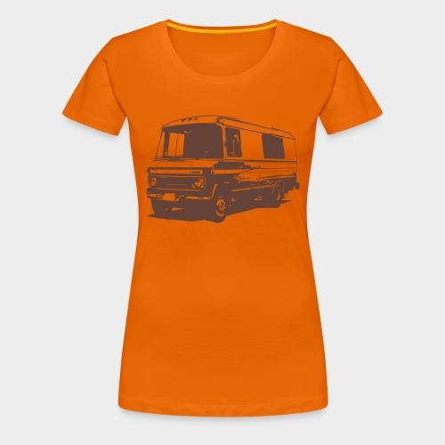 DüDo Shirt - Männer T-Shirt - orange - Frauen Premium T-Shirt