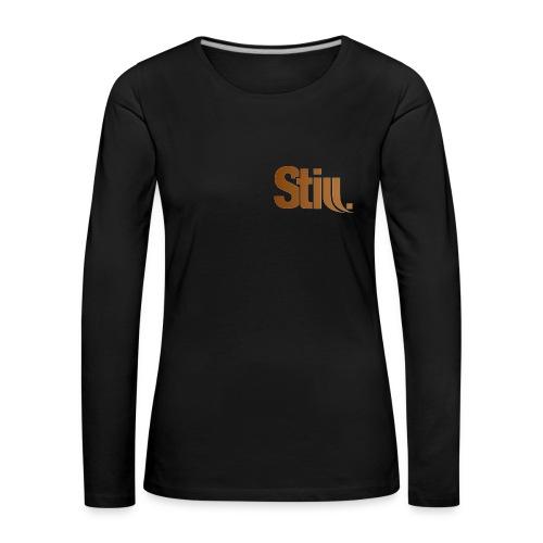 Frauen Langarm-Shirt m. Still.-Logo vorne - Frauen Premium Langarmshirt