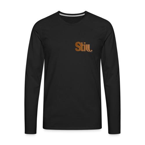Herren Langarm-Shirt m. Still.-Logo vorne - Männer Premium Langarmshirt