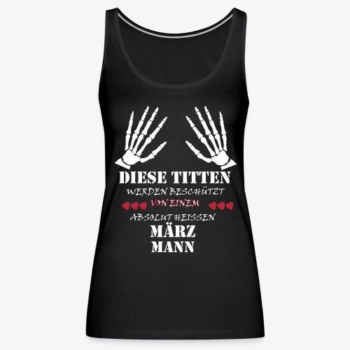 Diese Titten..... - Frauen Premium Tank Top