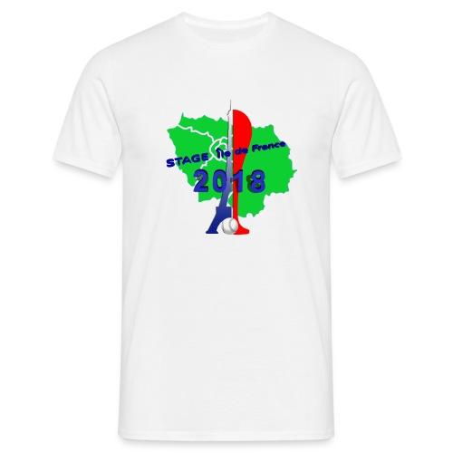 Stage Ile de France 2018 - T-shirt Homme