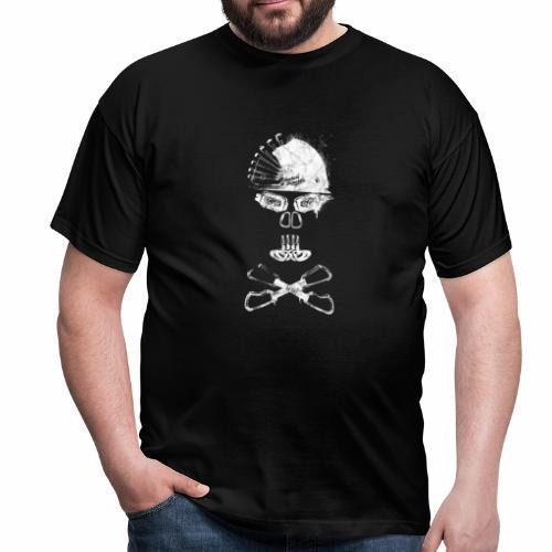 Climbing skull - T-shirt Homme