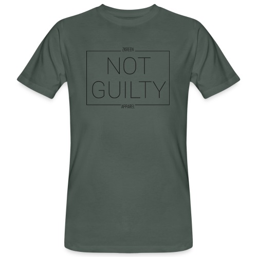 nur online ZKREEN NOT GUILTY - Men's Organic T-Shirt