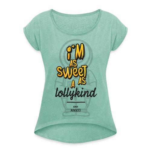 As LK II - Frauen T-Shirt mit gerollten Ärmeln