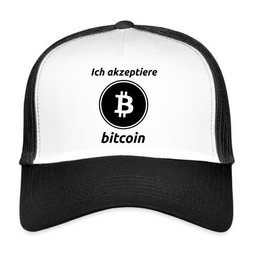 Ich akzeptiere Bitcoin   Cap - Trucker Cap