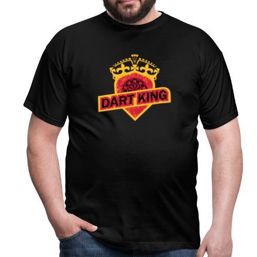 Dart King - Männer T-Shirt