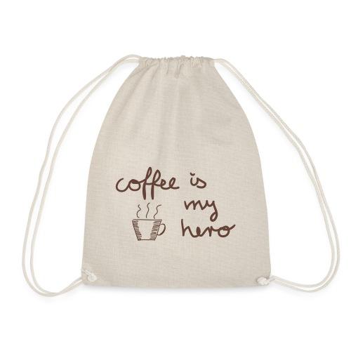 Turnbeutel: coffee is my hero - Turnbeutel